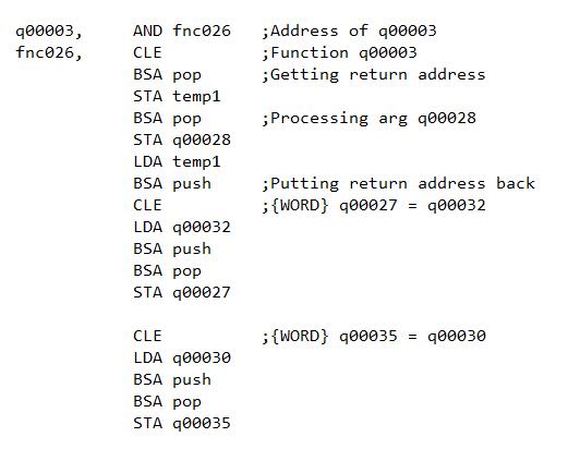 Mano Compiler - School - Max's Code